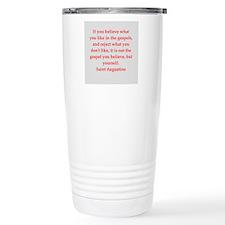 St Augustine Travel Mug