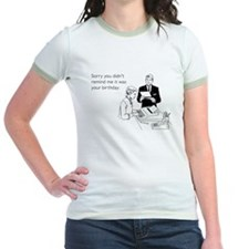 Remind Me It Was Your Birthday Jr. Ringer T-Shirt