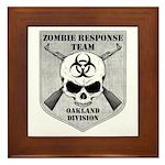 Zombie Response Team: Oakland Division Framed Tile