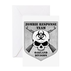 Zombie Response Team: Oakland Division Greeting Ca