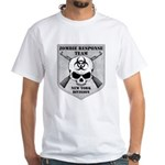 Zombie Response Team: New York Division White T-Sh
