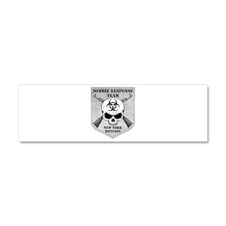 Zombie Response Team: New York Division Car Magnet