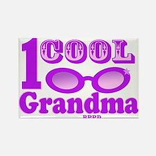 1 Cool Grandma Rectangle Magnet
