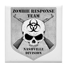 Zombie Response Team: Nashville Division Tile Coas