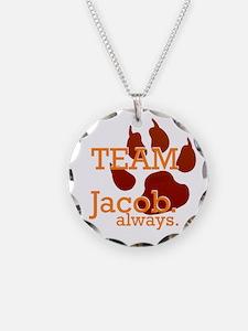 Team Jacob Always Necklace