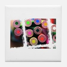 Cute Craft projects Tile Coaster