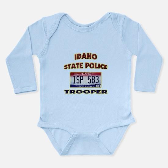 Idaho State Police Long Sleeve Infant Bodysuit