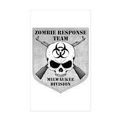 Zombie Response Team: Milwaukee Division Sticker (