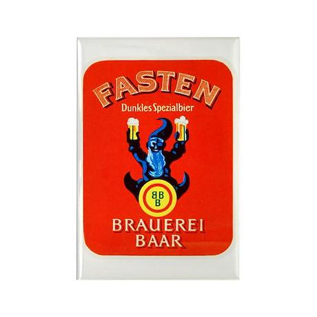 Switzerland Beer Label 3 Rectangle Magnet