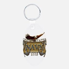 US Navy Anchors and Eagle Keychains