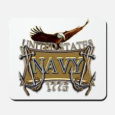 US Navy Anchors and Eagle Mousepad