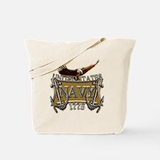 US Navy Anchors and Eagle Tote Bag