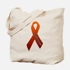 Orange Ribbon 'Survivor' Tote Bag