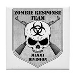 Zombie Response Team: Miami Division Tile Coaster