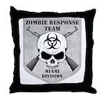 Zombie Response Team: Miami Division Throw Pillow