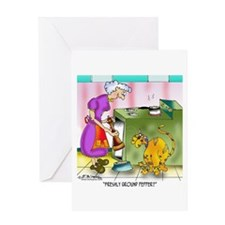 Freshly Ground Pepper? Greeting Card
