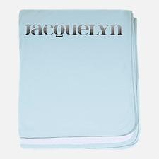 Jacquelyn Carved Metal baby blanket