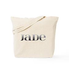 Jade Carved Metal Tote Bag