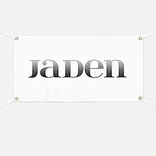 Jaden Carved Metal Banner