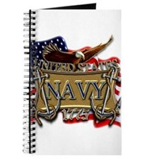 US Navy Flag Anchors and Eagl Journal