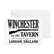 Winchester Tavern Shaun of the Dead Greeting Card