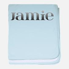 Jamie Carved Metal baby blanket