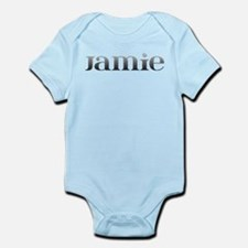 Jamie Carved Metal Infant Bodysuit