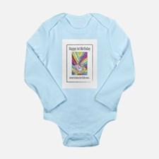 Cute Wished baby Long Sleeve Infant Bodysuit