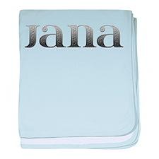 Jana Carved Metal baby blanket