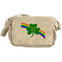 12th Shamrock Messenger Bag