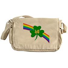 40th Shamrock Messenger Bag