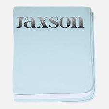Jaxson Carved Metal baby blanket