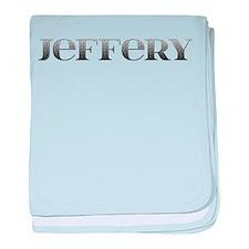 Jeffery Carved Metal baby blanket
