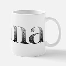 Jenna Carved Metal Mug