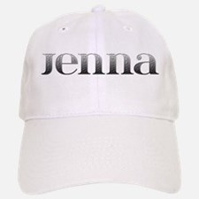 Jenna Carved Metal Baseball Baseball Cap