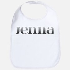 Jenna Carved Metal Bib