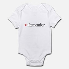 iRemember Memorial Day iPod Infant Creeper