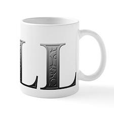 Jill Carved Metal Mug