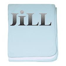 Jill Carved Metal baby blanket