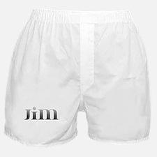 Jim Carved Metal Boxer Shorts