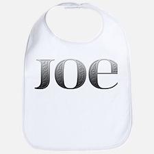 Joe Carved Metal Bib