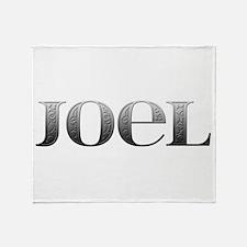 Joel Carved Metal Throw Blanket