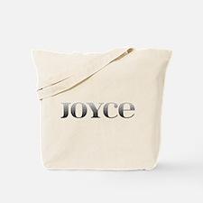 Joyce Carved Metal Tote Bag