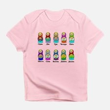 Nesting Dolls Infant T-Shirt