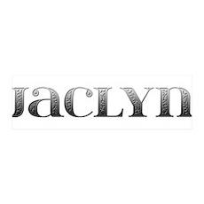 Jaclyn Carved Metal 42x14 Wall Peel