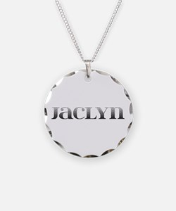 Jaclyn Carved Metal Necklace