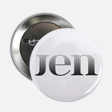 Jen Carved Metal Button