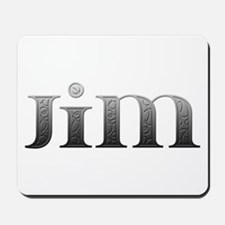 Jim Carved Metal Mousepad