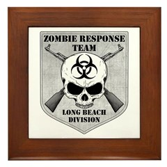 Zombie Response Team: Long Beach Division Framed T