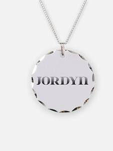 Jordyn Carved Metal Necklace